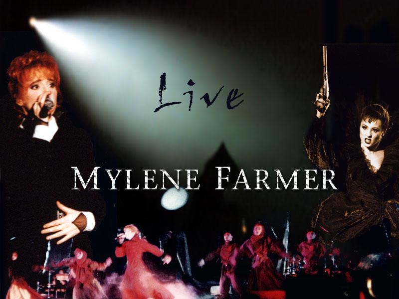 mylene farmer обои на рабочий стол: